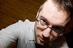 A MySpace-esque photo of Jason Garber